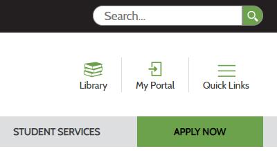 portal button screenshot