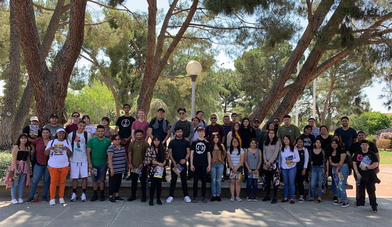 CSU Bakersfield TRiO students